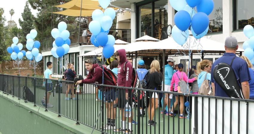 tennis fundraiser for drug awareness